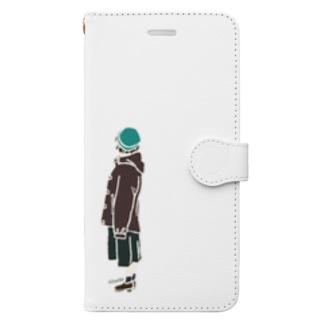 みやるひと Book-Style Smartphone Case