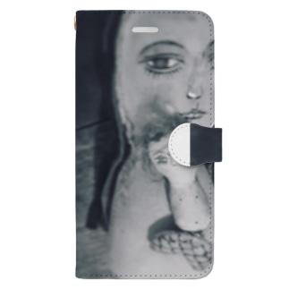 人魚の聖母子♡ Book-style smartphone case