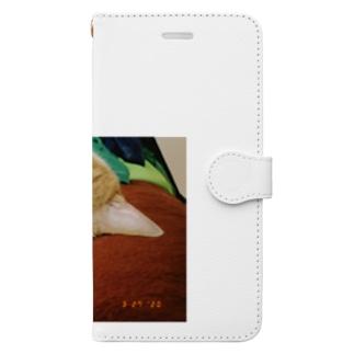 すこやかなねがお Book-style smartphone case