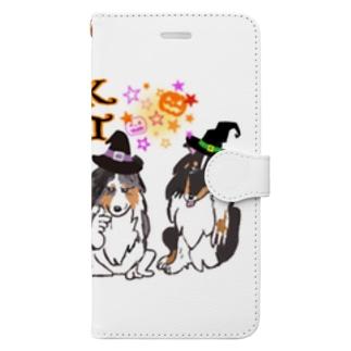 シェルブラ シスターズ  Book-style smartphone case
