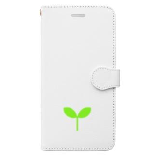 こどもの芽 Book-Style Smartphone Case
