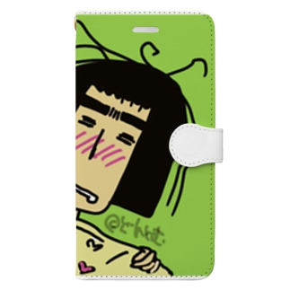 Dontom公式グッズ Book-style smartphone case