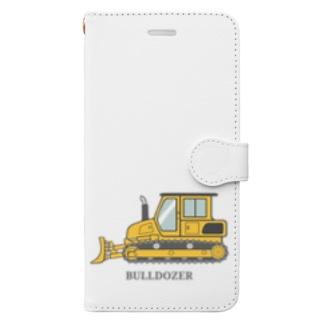 すぎ屋のブルドーザー Book-style smartphone case