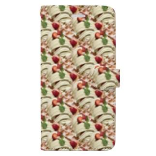 スィーツ天国 Book-style smartphone case
