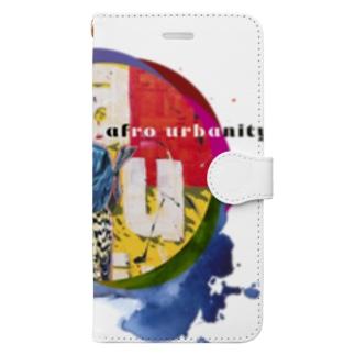 Afro Urbanity Bird Book-style smartphone case