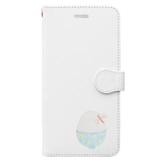 白ごはんと赤トンボ Book-style smartphone case