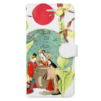三大美女覗世界 Book-style smartphone case
