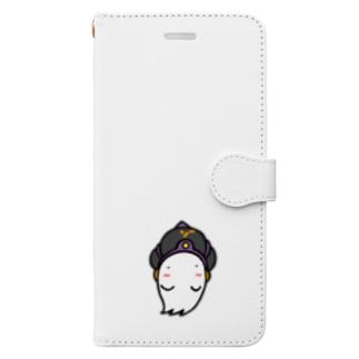 オバケさま Book-style smartphone case
