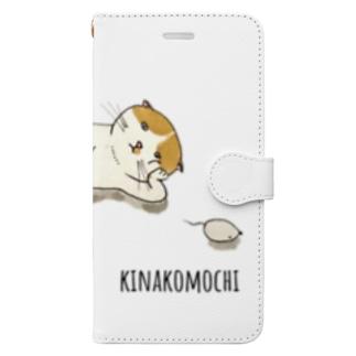 lazycatKinakomochi for T.E Book-style smartphone case