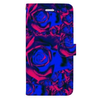 薔薇園 Book-style smartphone case