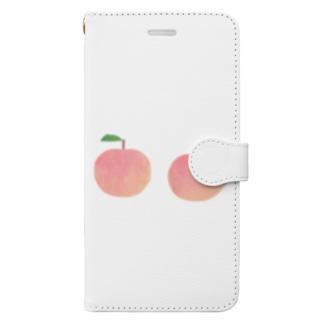 もも Book-style smartphone case