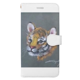 虎の仔2020 Book-style smartphone case