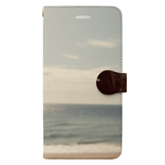 Sunshine beach Book-style smartphone case