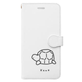 カメ Book-style smartphone case