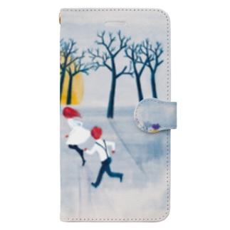 夜明け Book-style smartphone case