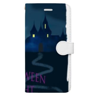 Halloween night Book-style smartphone case