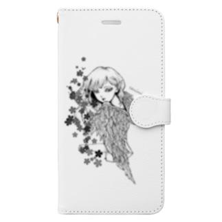 堕天使ちゃん2 Book-style smartphone case