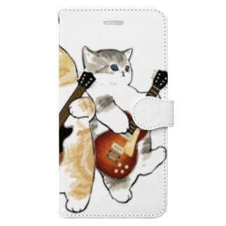 君のために歌う「ニャー」 Book-style smartphone case