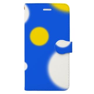 mizutamaもよう Book-style smartphone case