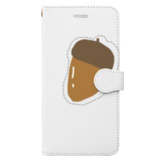 どんぐり。 Book-style smartphone case