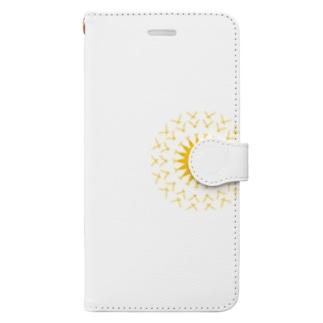 太陽 Book-style smartphone case