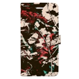 paint_02_vivid Book-style smartphone case