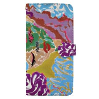 loveandPeace -JIU- Book-style smartphone case