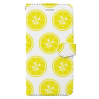レモンじゃなくてユズです!! Book-Style Smartphone Case