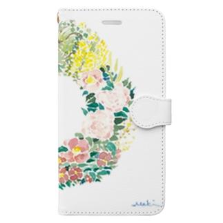 早春リース Book-style smartphone case