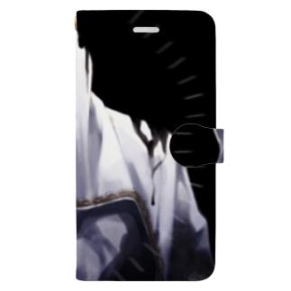 どろどろ Book-style smartphone case