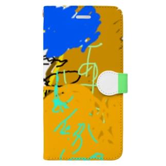 aya-kao Book-style smartphone case