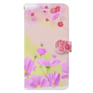 コスモスシュナ Book-Style Smartphone Case