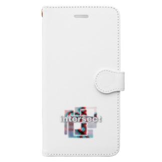 ☆インターセクト☆ Book-style smartphone case