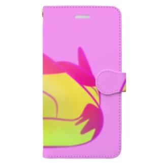 ねこ6  Book-style smartphone case