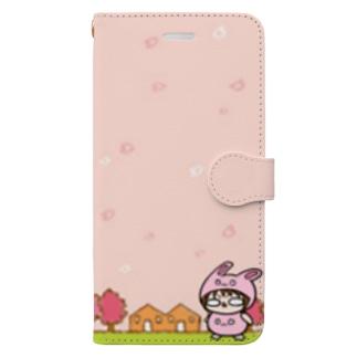 うさぎあちし Book-style smartphone case