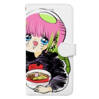 やせたい…! Book-style smartphone case