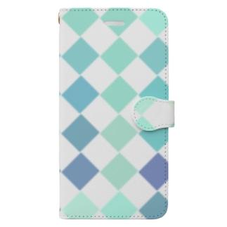 ブルースクエア Book-style smartphone case