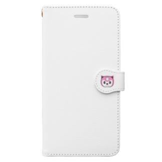 【原価販売】野良猫にゃずこAタイプ Book-style smartphone case