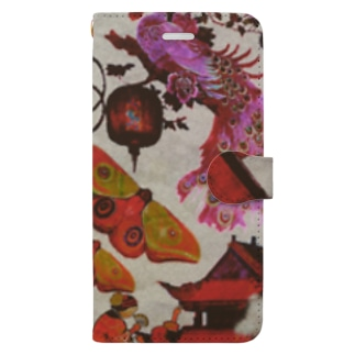 Chinese dancing all-night Book-style smartphone case