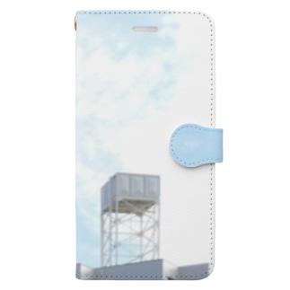 給水塔 Book-style smartphone case