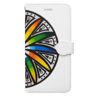 タイムスリップ Book-style smartphone case