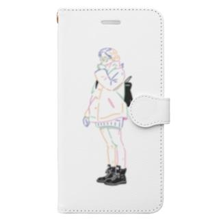 winter Book-style smartphone case