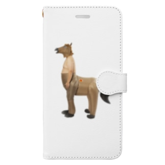 人馬一体 Book-style smartphone case