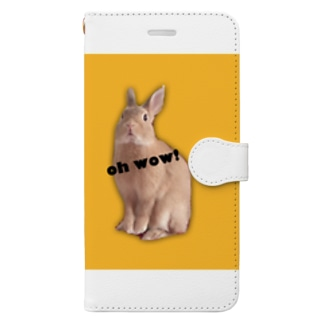 RAVI the rabbit Book-style smartphone case