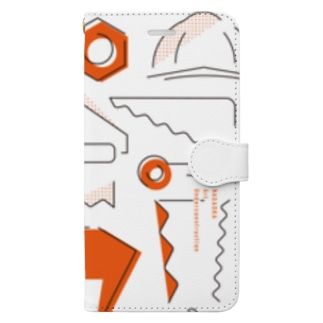 長岡芸術工事中2020 Book-style smartphone case