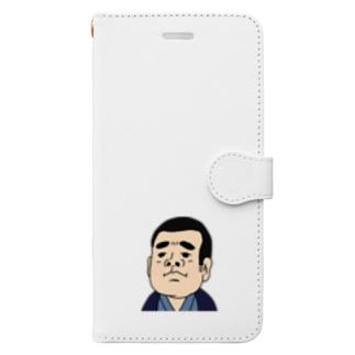 西郷てんこ盛 Book-style smartphone case