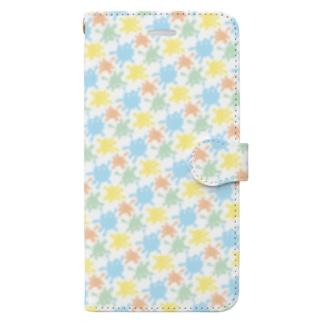 絵の具ちゃんmini Book-style smartphone case