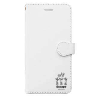 脱出くん Book-style smartphone case