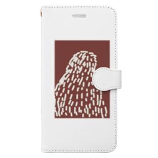 冬の鳥 Book-style smartphone case
