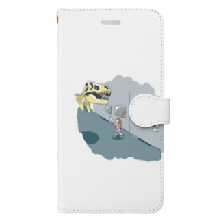 ミュージアム Book-style smartphone case